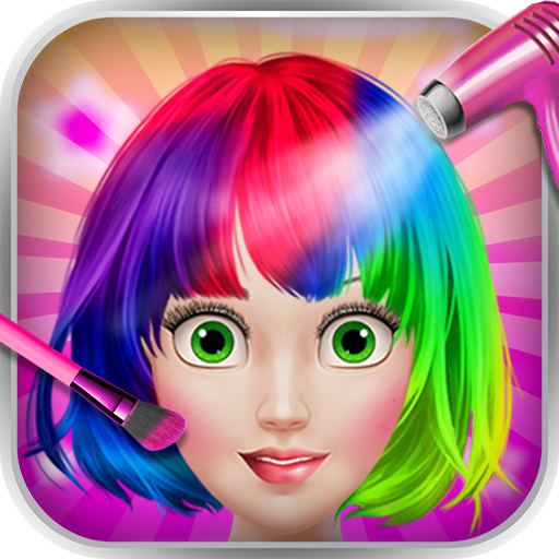 Hair Tattoo Paint - Salon Game
