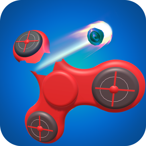 Fidget Shooter & Bottle Ninja 3D Shoot Game